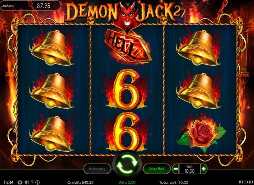Игровой автомат Demon Jack 27 на деньги