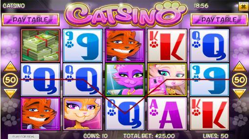 Игровые автоматы на деньги - Catsino