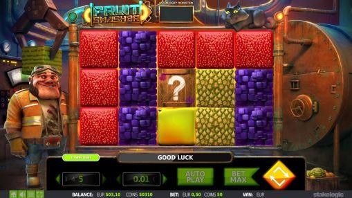Онлайн игровой автомат Fruit Smasher на реальные деньги