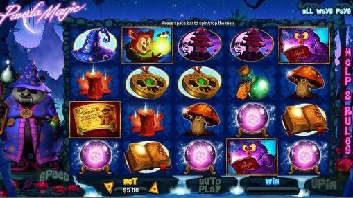 онлайн игровые автоматы на реальные деньги - Panda Magic