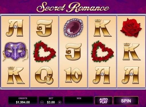 Игровые автоматы онлайн на деньги - Secret Romance