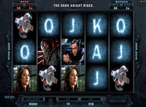 Игровые автоматы на деньги - The Dark Knight Rises