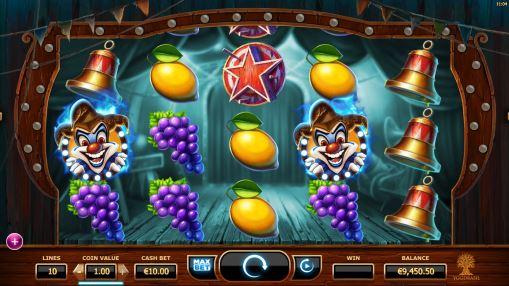 Игровые автоматы на реальные деньги - Wicked Circus