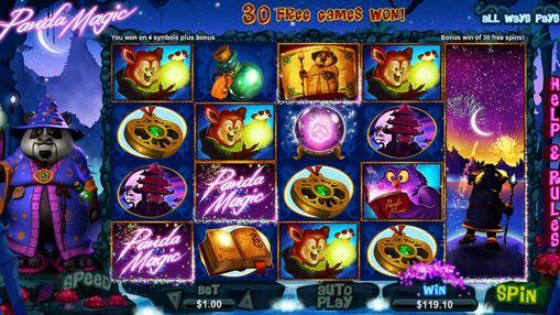 Играть на деньги в игровой автомат Panda Magic онлайн