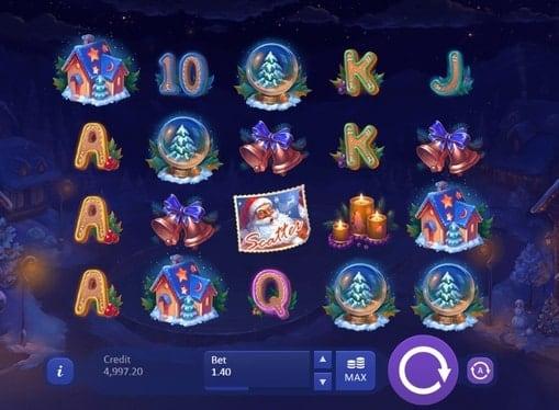 Игровые автоматы на реальные деньги - Christmas Eve