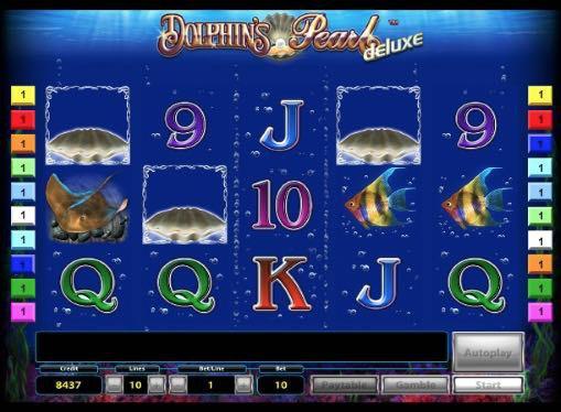 Игровые автоматы на деньги - Dolphin's Pearl Deluxe
