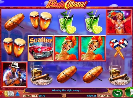 Игровые автоматы на реальные деньги - Fiesta Cubana