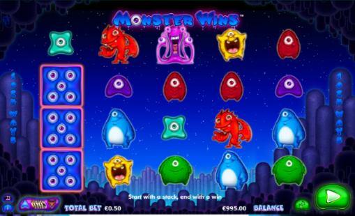 Онлайн автоматы на реальные деньги - Monster Wins