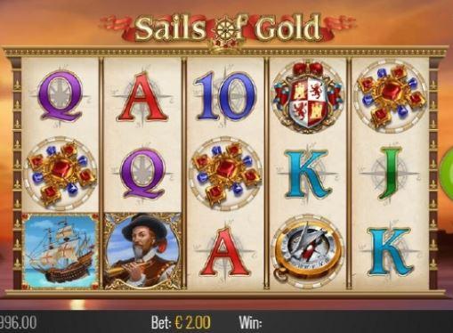 Онлайн автоматы на реальные деньги - Sails of Gold и Golden Caravan