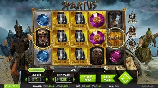Онлайн автоматы на реальные деньги - Spartus