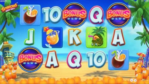 Игровые автоматы онлайн на деньги - Spinions Beach Party
