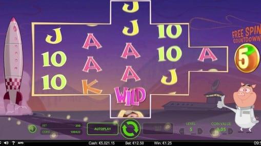 Игровые автоматы на деньги - When Pigs Fly