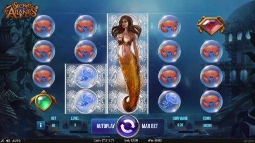 Игровые автоматы играть на деньги - Secrets of Atlantis
