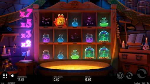 Игровые автоматы на реальные деньги - Frog Grog