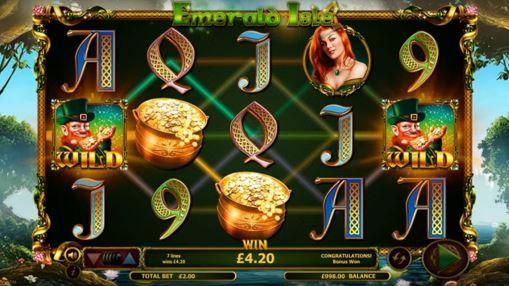Игровые автоматы играть на деньги - Emerald Isle