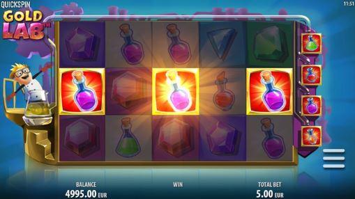 Игровой автомат Gold Lab на реальные деньги
