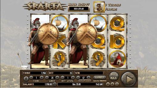 Играть на деньги в игровые автоматы онлайн - Sparta