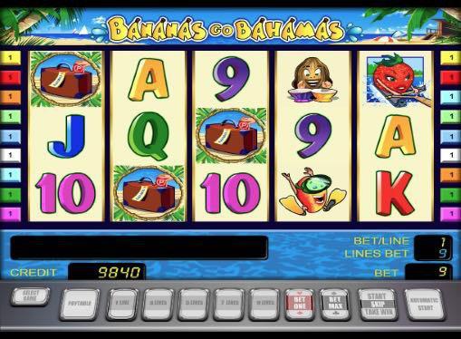 Игровые автоматы на реальные деньги - Bananas Go Bahamas