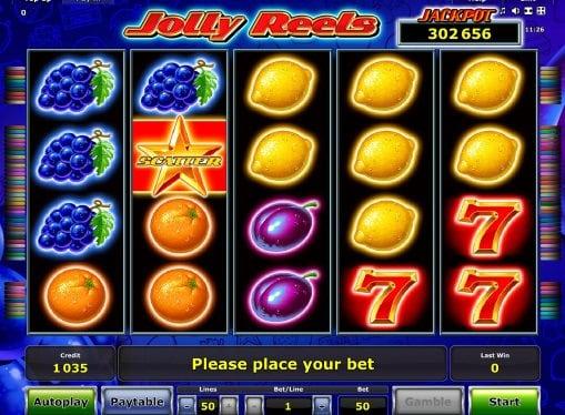 Игровые автоматы на реальные деньги - Jolly Reels