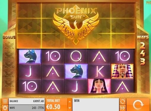Онлайн игровые автоматы на реальные деньги - Phoenix Sun