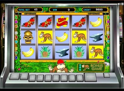 Игровые автоматы онлайн на деньги - Crazy Monkey
