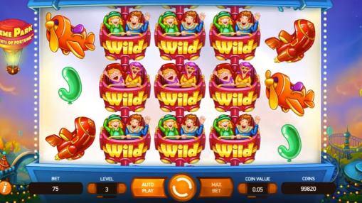 Игровые автоматы на деньги - Theme Park: Tickets of Fortune